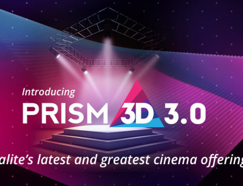 Galalite Screens launches new 3D screen- Prism 3D 3.0 at Big Cine Expo 2016