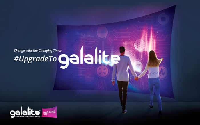 Upgrade to galalite cinema screens