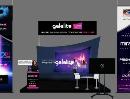 Galalite Screens participated in the first-ever virtual expo for the cinema business.