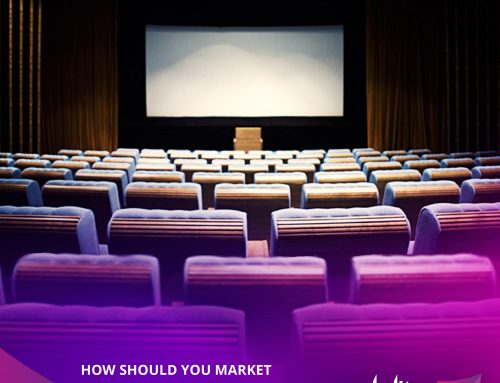 How should you market your theater to attract more eyeballs?
